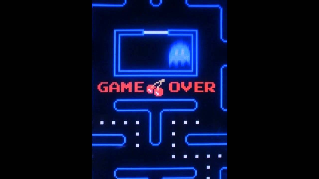 Pacman Death Game Over Noise HD