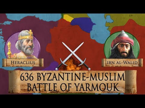 Battle Of Yarmouk 636 (Early Muslim Invasion) DOCUMENTARY