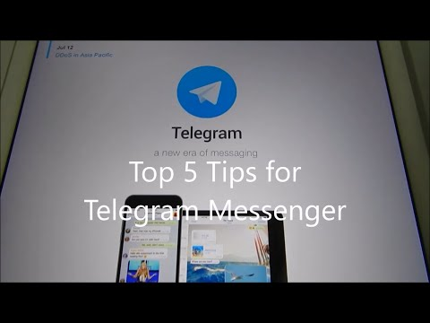 Top 5 Security Tips for Telegram Messenger!