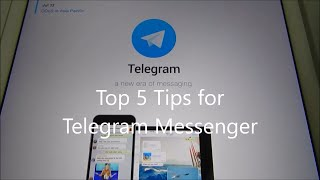 Top 5 Security Tips for Telegram Messenger!