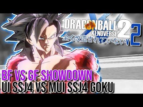 BF VS GF! UI SSJ4 VS MUI SSJ4 GOKU! | Totally NOT Modded Dragon Ball Xenoverse 2 - Episode 14