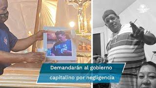 José Juan quedó debajo de la ballena que cayó de la L12 cuando iba a bordo de su automóvil; sus padres planean demandar por negligencia  a las autoridades
