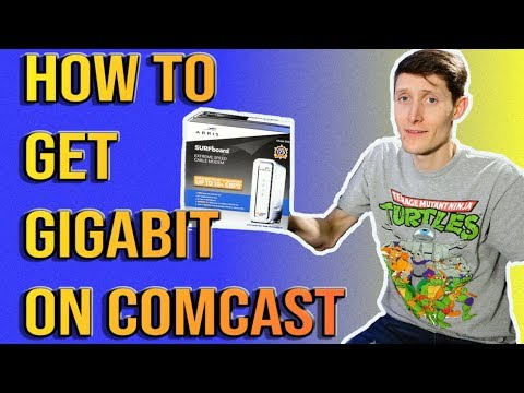 How To Get Gigabit With Comcast or Cox with SB8200 Docsis