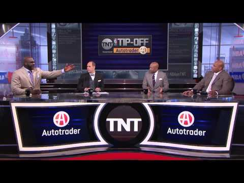 Shaquille O'Neal and Charles Barkley Get Into It Over Lebron James   Inside the NBA   NBA on TNT