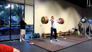 Hysen Pulaku 166kg Snatch; 208kg and 211kg Clean and Jerk