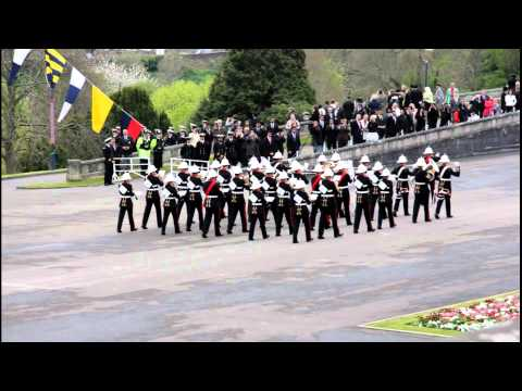 The Band: Britannia Royal Naval College Passing out parade Thu 14 Apr 2011