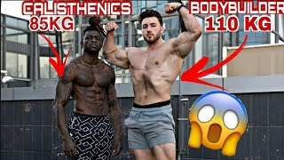 BODYBUILDER TRIES CALISTHENICS ft. Brandon Harding | PROVA per LA PRIMA VOLTA 😱 INCREDIBILE