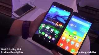 Yureka VS Lenovo A6000 Hands on Comparison Review, Build Quality, Camera and Features Overview