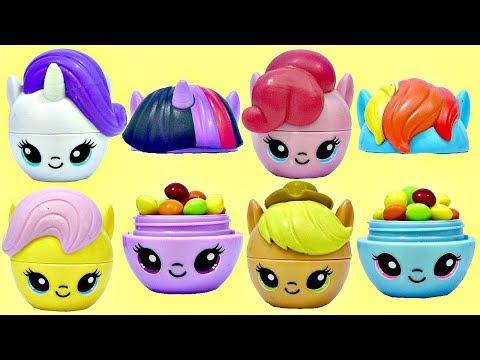 My Little Pony MLP RADZ TWISTZ Mix N' Match Top Candy Dispensers