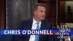 Chris O'Donnell Hit The Floor In The Delivery Room