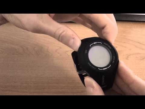 How To Master Reset The Garmin Forerunner 210 - Fixes Most Forerunner Issues