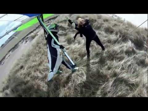 strongest wind hang gliding crash