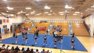 ridge community high school cheer