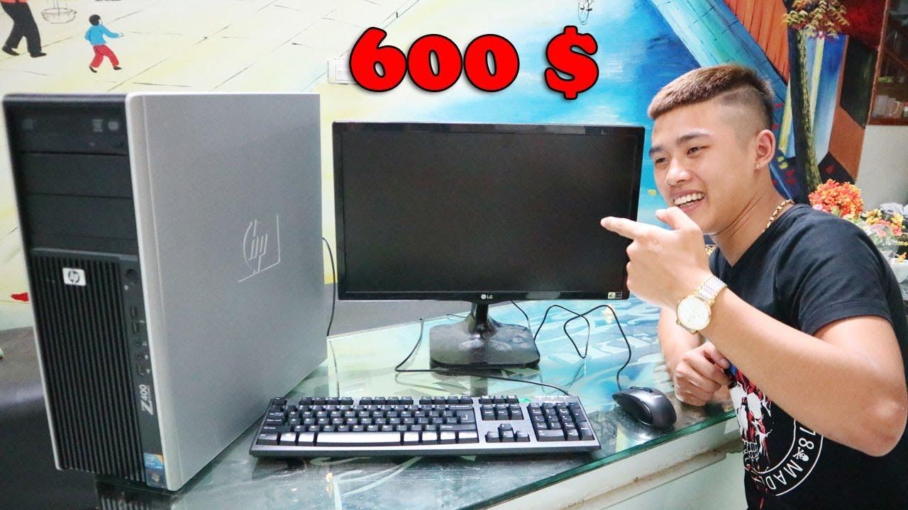 Duy Thường – Tặng Minh Coii Bộ Máy Tính 600 $