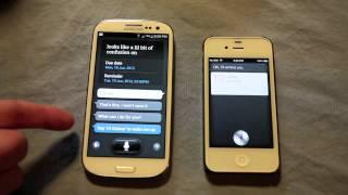 Siri vs S Voice!
