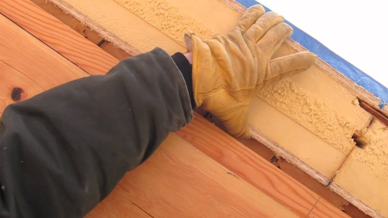 SIP Roof Construction - YouTube