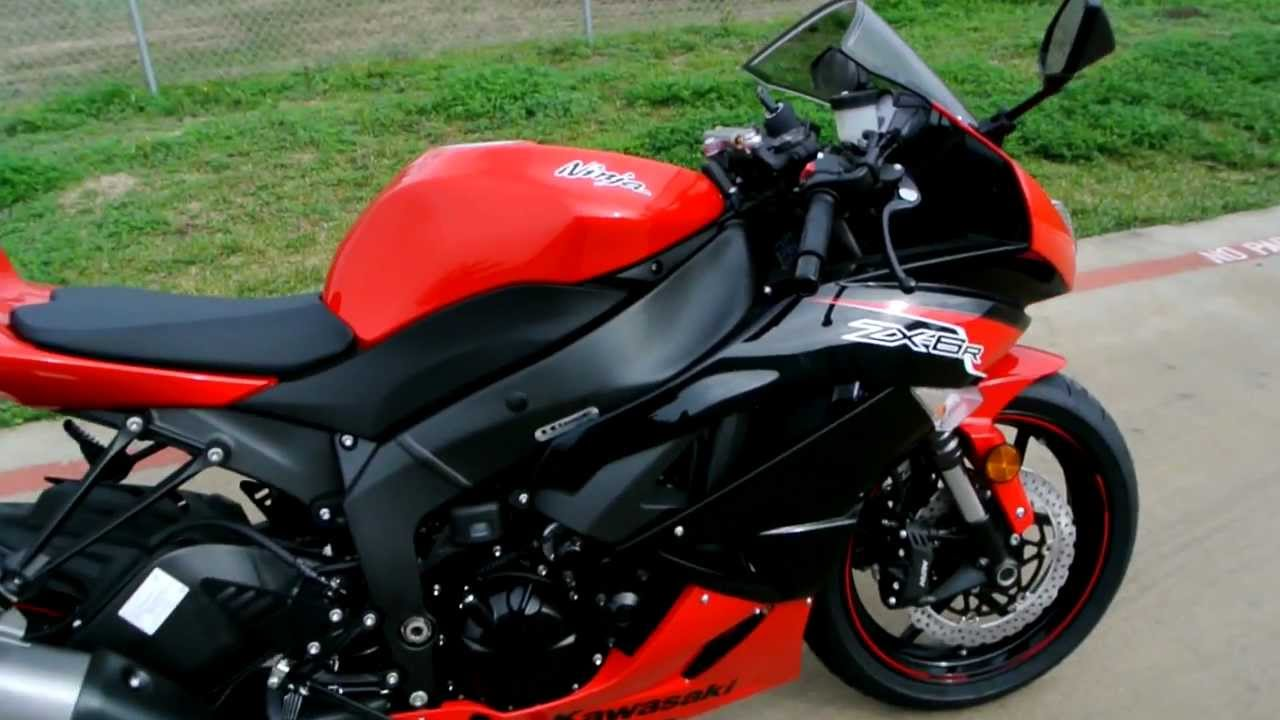Kawasaki Ninja Zxr Black