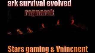ARK: Survival Evolved: Ragnarok modded: server event .  chat mini games
