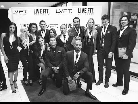 Live Fit Apparel New Year's Eve Red Carpet Event