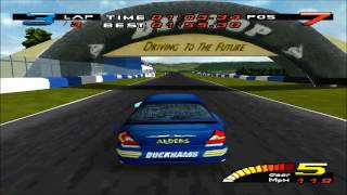 Touring Car Toca (PSX) GAME-PLAY