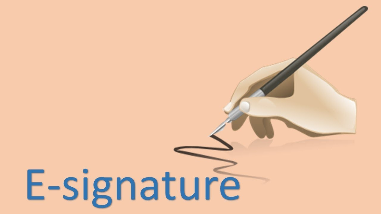 Download How to let customers sign with E-signatures