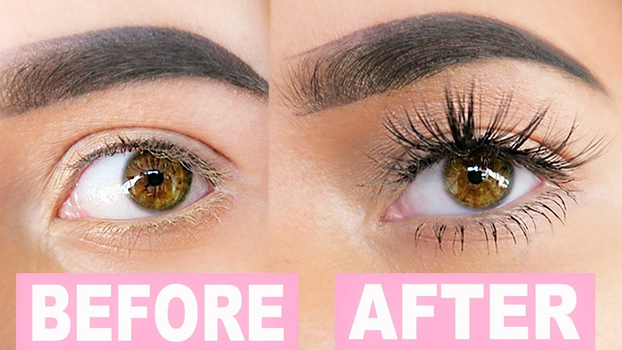 927905b47ae DIY EYELASH EXTENSIONS - YouTube