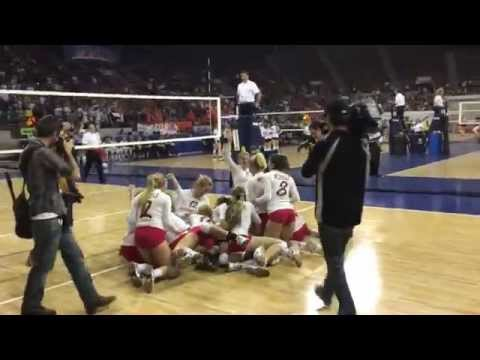 Eaton wins 2015 3A volleyball championship