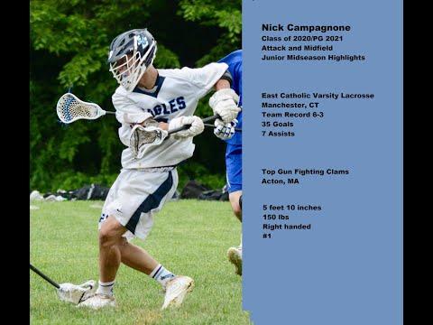 Nick Campagnone (2020) Junior Midseason Highlights