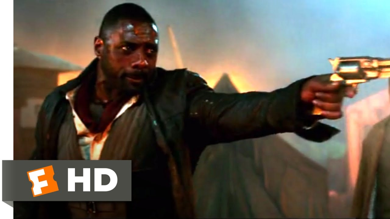 Idris Elba Films Dark Tower Scenes With Tom Taylor As Jake The Dark Tower 2017 The Taheen Attack Scene 5 10 Movieclips
