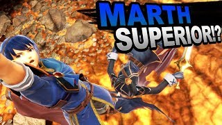 Marth is BETTER than Lucina? KEY Marcina Differences in Smash Ultimate