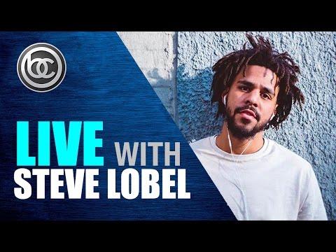 J Cole talks Tupac, Jay Z, Eminem & Dreamville | Live with Steve Lobel