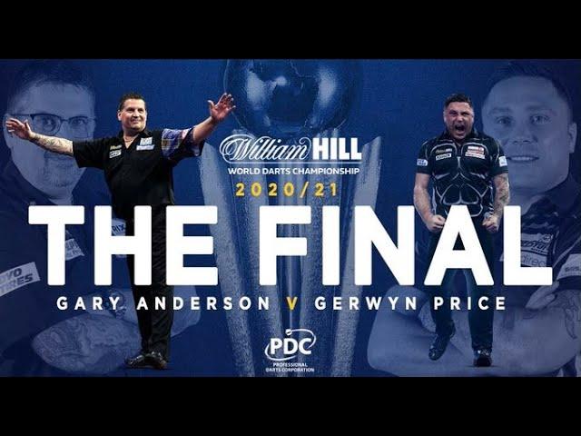 🔥 Campeonato del Mundo de Dardos en castellano 🎯 FINAL: Gerwyn Price vs Gary Anderson