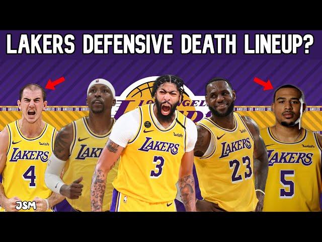 Los Angeles Lakers REVEAL DEFENSIVE DEATH LINEUP! Lockdown Defensive Lineup! Lakers News