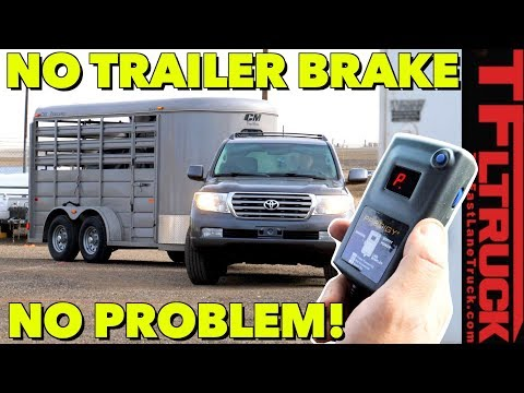 Is This The Future of Towing? Wireless Brake Controller Makes Hauling Heavy Painless and Safe!