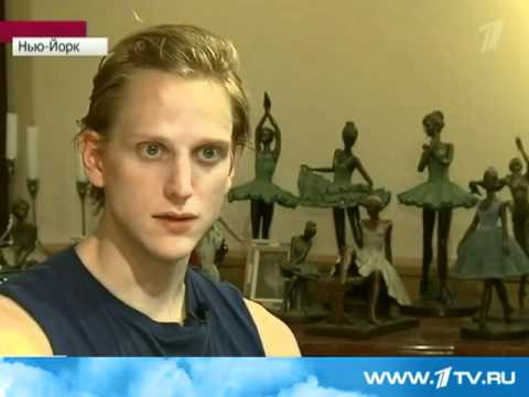 David Hallberg on Russian TV news / 1