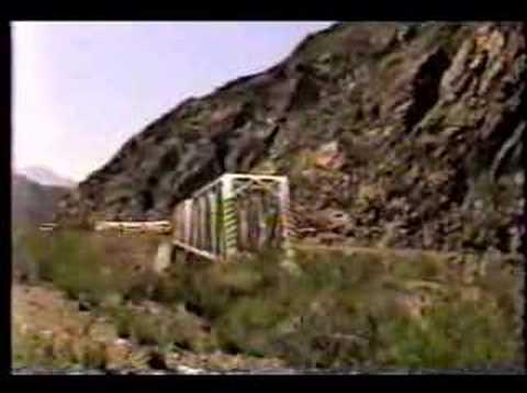 Camino a puente del inca