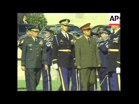 USA: CHINA'S MILITARY CHIEF OF STAFF GENERAL FU QUANYOU VISIT