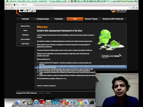 SecurityTube Interesting Links: Mercury Exploitation Framework for Android