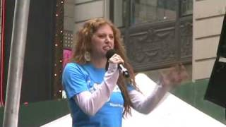 "Caissie Levy: ""Easy to Be Hard"" @ Bway on Bway 2009"