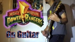 Mighty Morphin Power Rangers Intro Theme On Guitar ( Rock / Metal )