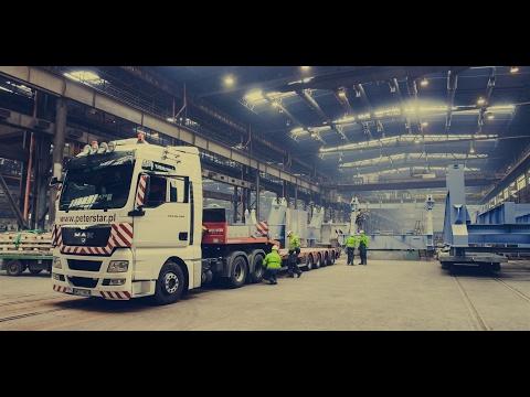 Project Dresden - transport ponadgabarytowy - reportaż