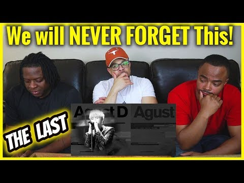 We Will Never Forget This Moment | BTS Suga (AGUST D) 'The Last' REACTION