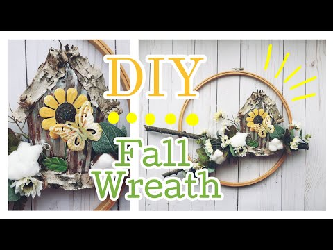 DIY Fall Wreath || Fall DIY || Ultimate Fall Wreath Playlist