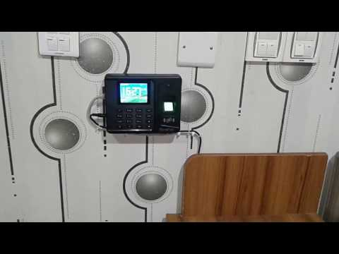 Fingerprint time attendance machine bangladesh
