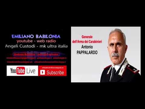 Generale dei Carabinieri Antonio Pappalardo intervistato da Emiliano Babilonia
