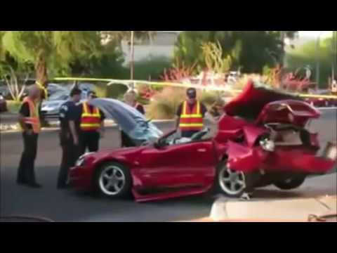 when mustangs attack crash compilation