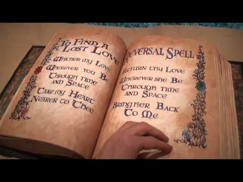 Prescott Manor's Charmed Book Of Shadows - Full Flip Through