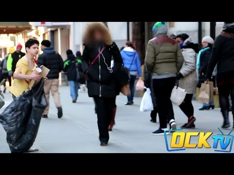 Thumbnail: The Freezing Homeless Child - Little Boy Left In The Cold! (Social Experiment)