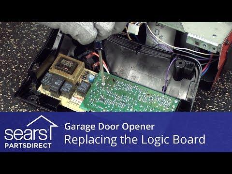 Replacing The Logic Board On A Garage Door Opener