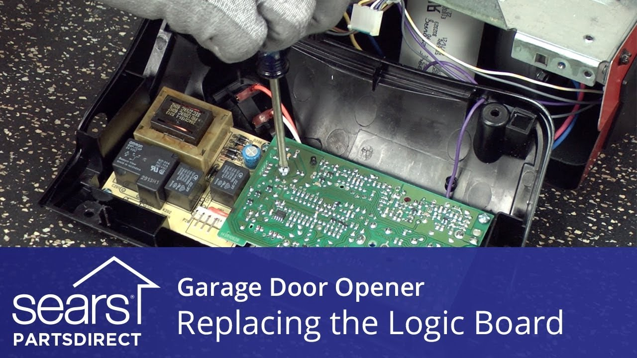 Replacing The Logic Board On A Garage Door Opener Youtube